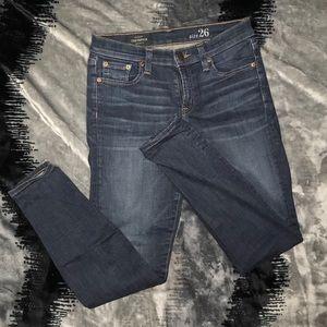 J. Crew Toothpick Jeans Size 26